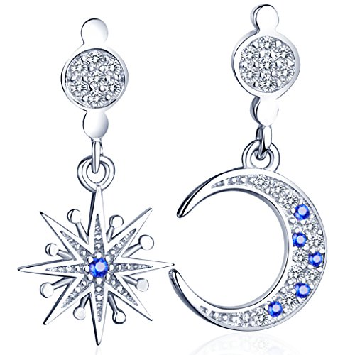 infinite-u-fashion-starmoon-mismatched-earrings-925-sterling-silver-cubic-zirconia-drops-dangles-stu