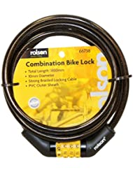 Rolson 66738 Combination Bike Lock