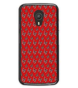 Fiobs Designer Back Case Cover for Meizu M1 Note :: Meizu Note 1 (jaipur rajasthan african america cross pattern)