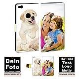 Personalisierte Premium Foto-Handyhülle für Huawei-Serie selbst gestalten mit Foto bedrucken (Huawei P8 Lite (2017), Mit eigenes Foto Text Druck)