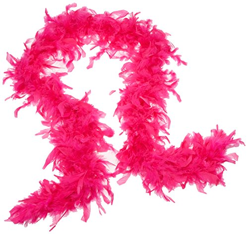 Touch of Nature 38018 Chandelle Boa, 45 GM, Hot Pink