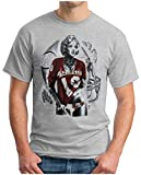 OM3 - Marilyn Monroe 49ers T - Shirt San Francisco American