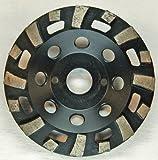 Im Trennscheibenshop Schleifteller, ST65_Ø 125 mm, Schleiftopf, Estriche, Sandstein, Putze, abrasive, Turbo,