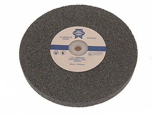Faithfull GW12513C General Purpose Grinding Wheel 125 x 13mm - Coarse Alox Test