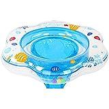 Samione Anillo de natación para bebé, Flotador para bebé con Asiento Ideal para niños Piscina