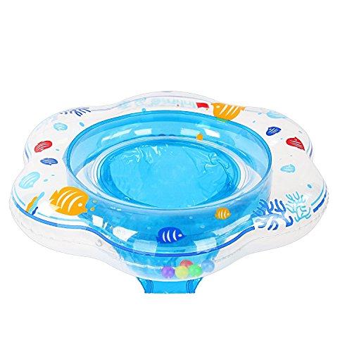 Samione anello di nuoto bambini, bebè salvagente sicurezza gonfiabile per piscina, nuoto anello con sedile ideale per bambini da 6 mesi a 3 anni