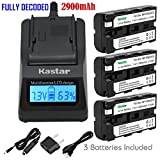 Kastar 3X Battery + Fast Charger for Sony NP-F570 NP-F550 NP-F530 NP-F330 & CCD-RV100 CCD-SC5 CCD-SC9 CCD-TR1 CCD-TR215 CCD-TR940 Camcorder, CN-126 CN-160 CN-216 CN-304 YN 300 VL600 LED Video Light