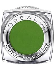 L'Oréal Paris Color Indefectible Eyeshadow, 19 Smoothie Kiwi - Mono Lidschatten für extra lang anhaltende Farbe und funkelnden Glanz - 1er Pack (1 x 3,5g)