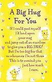 "Heartwarmers A Big Hug For You Keepsake Card & Envelope 3.5"" x 2"" Code K134E"