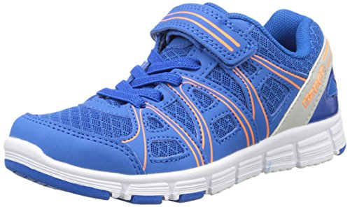 Kappa Ulaker, Jovens Tênis De Corrida Azul (azul Royal / Laranja)