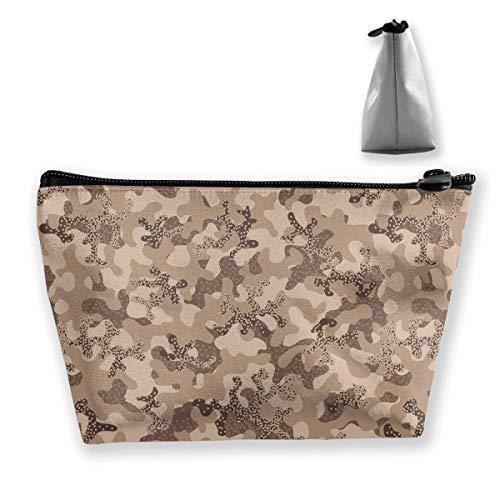Make-up Tasche Reise Fall Camouflage Soldat Camouflage Muster Gedruckt Organizer Lagerung Für Frauen Mädchen Tragbare