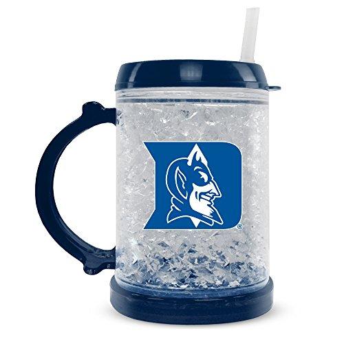 NCAA Duke Blau Devils 8oz Junior Kristall Gefrierschrank Tasse mit Deckel und Trinkhalm