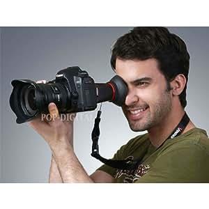 2.8x Loupe oculaire Viewfinder Extension de viseur LCDVF Viseur LCD pour Nikon D800D4D4S D4X avec 3.2