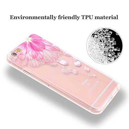 iPhone 5s Coque, Sunroyal® Coque iPhone SE/5 5s [Liquid Crystal] TPU Silicone Souple [Anti Choc] Etui Housse Portable Apple iPhone SE / iPhone 5 5s Bumper de Protection Ultra Mince Premium Case Cover  Motif TPU -10
