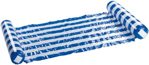 infactory Pool Hängematte: Ultrabequeme Wasser-Hängematte 130 x 70 cm (Schwimmliege)