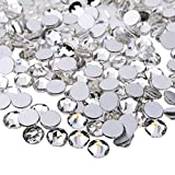 iTemer Strass Steine glitzernden transparent Glitzersteine Flachboden DIY Dekor 1440 pcs