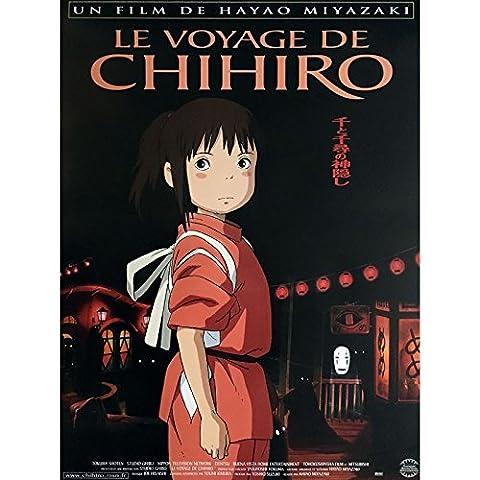 LE VOYAGE DE CHIHIRO Affiche de film 40x60 cm - 2011 - Miyu Irino, Hayao Miyazaki