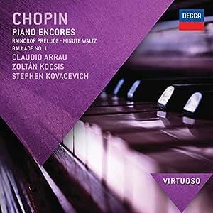 Regentropfen-Prelude,Minutenwaltzer,Ballade Nr.1 (Virtuoso)