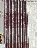 ZCJB Vorhänge Dicker Schallschutz Schattierung Tuch Schlafzimmer Wohnzimmer Balkon Vorhang Fertig Produkt Vorhang Ein Scheibe ( Farbe : A , größe : W250*H270CM )