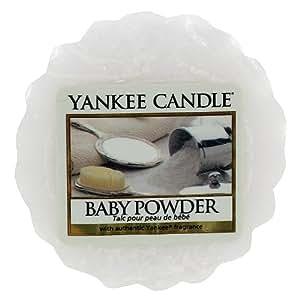 Yankee candle pot pourri parfum talc pour peau de b b for Meuble yankee candle