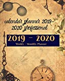calendar planner 2019-2020 professional: 2019-2020  Weekly/ Monthly Planner