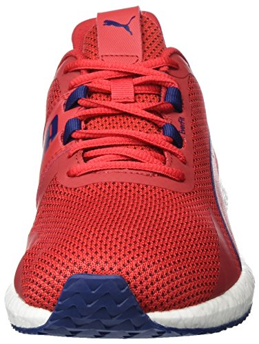 Puma Men   s Mega Nrgy Turbo Multisport Outdoor Shoes  Red  Toreador-Blue Depths   8 5 UK