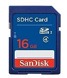 #6: SanDisk 16GB Class 4 SDHC Memory Card (SDSDB-016G-B35)