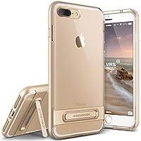 Cover iPhone 7 Plus, VRS Design [Crystal Bumper][Oro] - [Chiarissimo][Kickstand][Perfetto