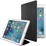DMG Translucent Back Flip Cover Smart Case for Apple iPad Pro 12.9 inch (Black)