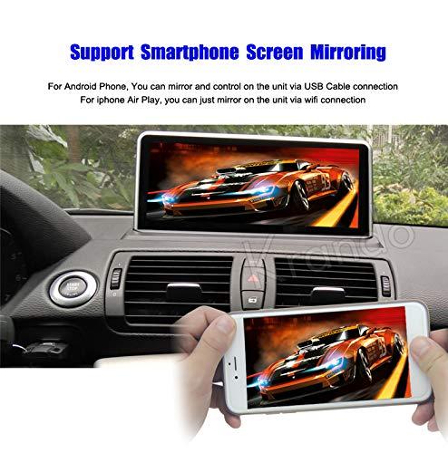 'Autoradio Krando Android 4.4.4 10.25 pour BMW série 1 e81 e82 e87 e88 2006 - 2012