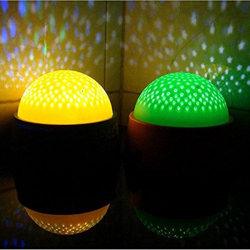 Bluelover Romantic LED Starry Projector Fantastic Fairy Star Ceiling Night Light LED Sky Lamp Children