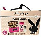 Playboy Geschenkset Playboy GP Women EdT 75ml + Dusch 250ml Play it lovely + Kosmetiktasche