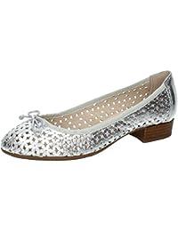95fe0cde21 Amazon.es: manoletinas mujer piel - 41 / Zapatos para mujer ...