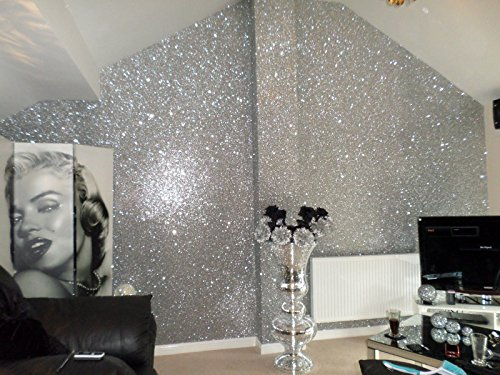 chunky-glitter-wallpaper-sample-grade-3-silver