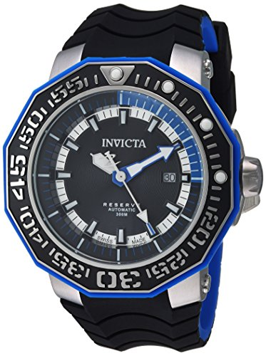 Invicta Men's Analog Automatic-self-Wind Watch with Silicone Strap 23029