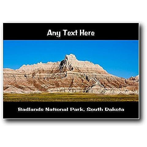 Parque Nacional Badlands, Dakota del Sur personaliseitonline Jumbo imán