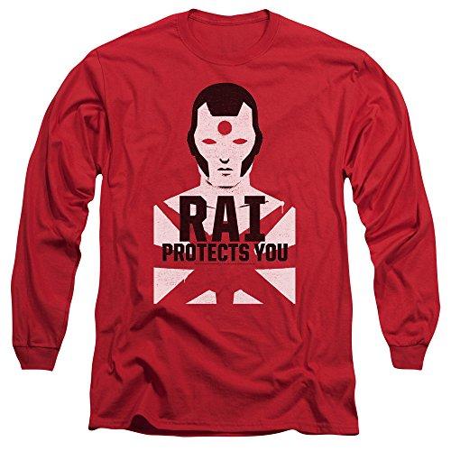 Rai - Herren-Schutz-T-Shirt Red
