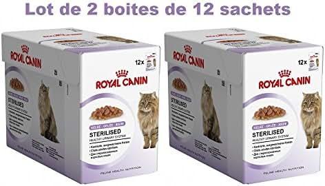 Royal Canin : Sachet Gelée Chat Stéril. : 2x12x85g