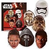 Star Wars - Pack de 6 caretas (Verbetena 014000857)