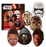 Star Wars Verbetena 014000857 Lot de 6 Masques de Star Wars
