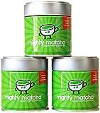 Matcha Green Tea Powder Award Winning Premium 100% Organic Ceremonial Grade (3 x 30g)