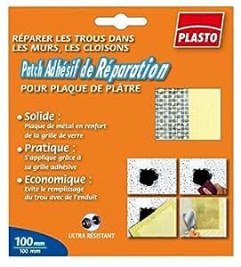 3M Bricolage Et Batiment - Patch Adhesif De Reparation Pour Plaque De Platre