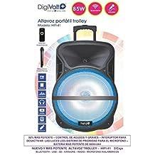 MovilCom Altavoz trolley 85W Digivolt HiFi 41 multimedia radio bluetooth micrófono Karaoke