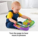 Fisher-Price M064826 Laugh and Learn Story, Rhymes, Electronic Educational Toddler Baby Book Toy with Words, Letters and Numbers, Suitable for 6 Months Plus in Assorted Colours.