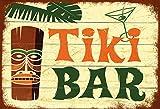 Tiki Bar barschild hawaii schild aus blech, metal sign, tin