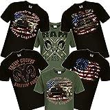 Shirtmatic RAM, American Pickup Truck, US Car, Mopar V8, V10, Dodge, Muscle car, Shirt (4XL, Bad Ass Toy schwarz)