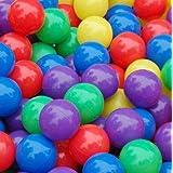 كرات محيط ملونة للمتعة، 50 قطعة، مصنوعة من البلاستيك المرن لخيم الاطفال واحواض السباحة، هدية العاب 5.5 سم من ساينيش