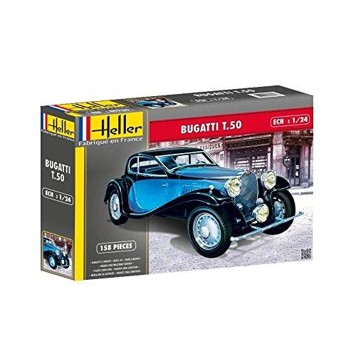 Heller 80706 - Modellbausatz Bugatti T 50