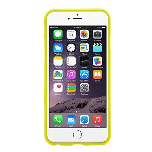 Phone Case & Hülle Für IPhone 6 u. 6S blaues und weißes Tupfen-Muster-glatter TPU Fall ( SKU : S-IP6G-0115G ) S-IP6G-0115Y