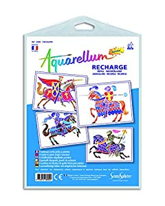 "Sentosphère 3906950""Aquarellum Junior Rider Recambio para Pintura Set"